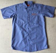 他の写真1: FRAGILESKATE -刺繍LOGO- ワークシャツ color:[light blue] size:[M]