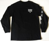 HARDLUCK -OLD ENGLISH- L/S color:[black] size:[M]