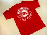 METHOD'S -GRILL & GARAGE- S/S tee color:[red] size:[L]