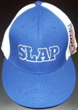 SLAP -FIT- cap skyblue/white [size free]