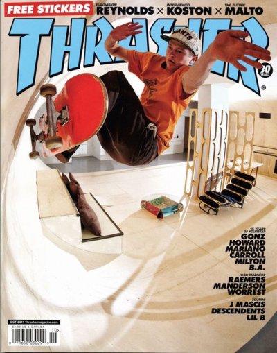 画像1: THRASHER MAGAZINE -10月号 2011-