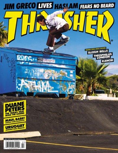 画像1: THRASHER MAGAZINE -7月号 2012- (ステッカー付き)