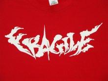 他の写真1: FRAGILE -BRUSH LOGO- S/S tee color:[red] size:[M]