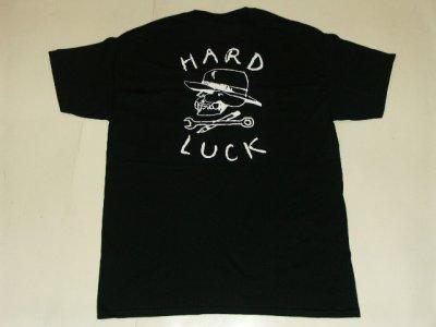 画像1: HARDLUCK -LOGO- S/S tee color:[black] size:[L]