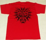 FRAGILE -CROSS LOGO- S/S tee color:[red/black] size:[M]