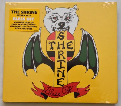 画像1: THE SHRINE -BLESS OFF- CD