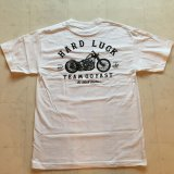 HARDLUCK -THE BLACK TIBETAN- S/S tee color:[white] size:[M]