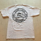 HARDLUCK -GREAT TIMES- S/S tee color:[white] size:[M]