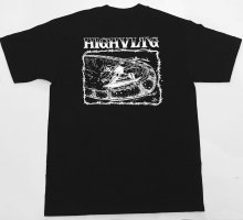 他の写真1: HIGH VOLTAGE -SLASH BACK- art by Bart Saric (Skater Made) S/S tee color:[black] size:[M]