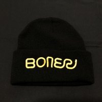 BRICKS BRAND -BONER LONG BEANIE- ビーニー color:[black]