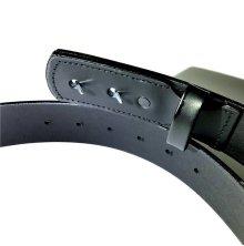 他の写真2: BRICKS BRAND -TIRE TREAD EMBOSSED MECHANICS BELT- レザーベルト tee color:[black] size:[30インチ]