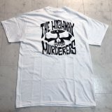 THE HIGHWAY MURDERERS -BACK LOGO- S/S tee color:[white] size:[M]