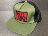 ANTI HERO -RESERVE PATCH- メッシュキャップ color:[olive/black]