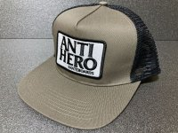 ANTI HERO -RESERVE PATCH- メッシュキャップ color:[sand gray/black]