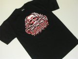 DEATH MACHINE -DEATH TROOPER(black.red)- S/S tee color:[black] size:[M]