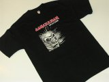 CONCUSSION -MAIDEN RIPOFF- S/S tee color:[black] size:[S][M]