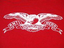 他の写真1: ANTI HERO -EAGLE- S/S tee color:[red] size:[M]