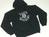 DEATH MACHINE -SNAGGLE WINGS- hood sweat color:[black] size:[M]