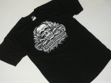 DEATH MACHINE -DEATH TROOPER(black.gray)- S/S tee color:[black] size:[M]