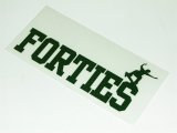 FORTIES -LOGO- sticker color:[green]
