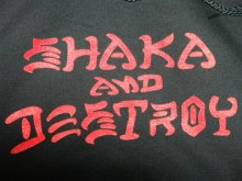 他の写真1: ROYAL HAWAIIAN POOL SERVICE -SHAKA AND DESTROY- hood sweat black [M]